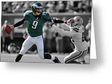 Nick Foles Eagles Super Bowl 2 Greeting Card