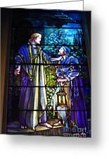 Nicodemus Came To Him At Night Greeting Card
