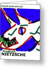 Nietzsche Poster Greeting Card