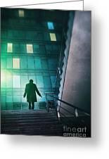 Night Agent Greeting Card
