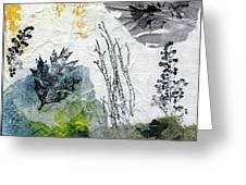 Night And Day In The Forest Greeting Card