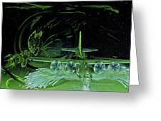 Night Angels Greeting Card