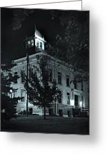 Night At The Court House Greeting Card