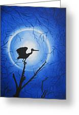 Night Bird Greeting Card