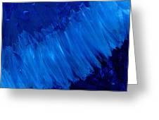 Night Blues Greeting Card