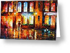 Night City Greeting Card