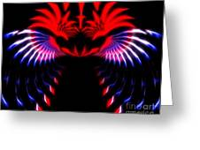 Night Eagle Greeting Card