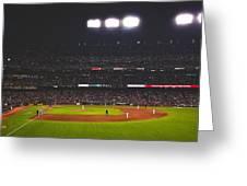 Night Game Greeting Card