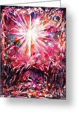 Night In Bethlehem Greeting Card