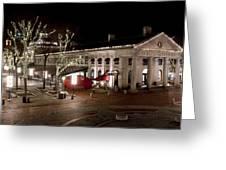 Night Market Greeting Card