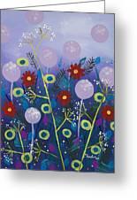 Night Meadow Greeting Card