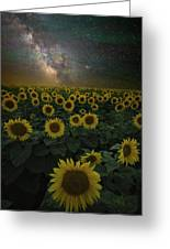 Night Of A Billion Suns Greeting Card