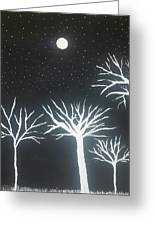Night Of Lights Greeting Card