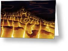 Night On Bald Mountain Greeting Card