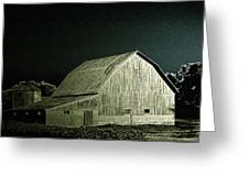 Night On The Farm Greeting Card
