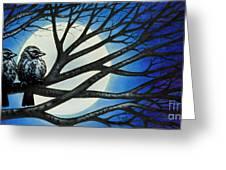 Night Perch Greeting Card