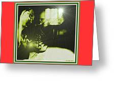 Night Search No. 14 H B With Decorative Ornate Printed Frame. Greeting Card