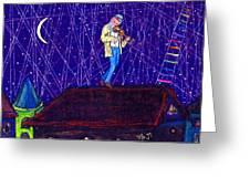Night Song  Greeting Card