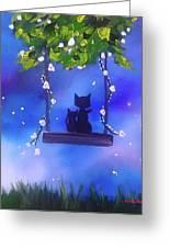 Night Stories Greeting Card