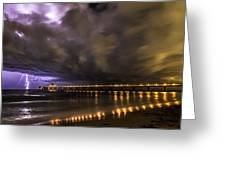 Night Storm Greeting Card