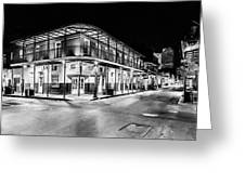 Night Time In The City Of New Orleans I Greeting Card