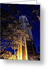 Night Tower Greeting Card