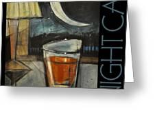 Nightcap Poster Greeting Card