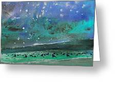 Nightfall 25 Greeting Card