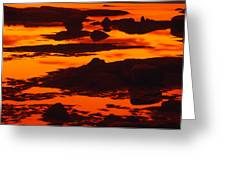 Nightfall Silhouettes Greeting Card