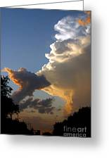 Nightly Storm Greeting Card