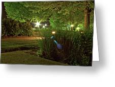 Nighttime Path Greeting Card