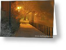 Nigthwalk  Greeting Card