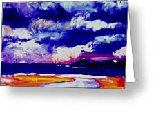 Nimbus Clouds Over Mumbles Greeting Card