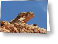 Nine Mile Canyon Utah  Greeting Card