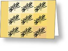Nine Shades Of Vanilla Greeting Card