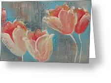 Nine Tulips Greeting Card