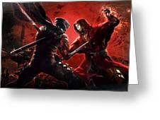 Ninja Gaiden 3 Greeting Card