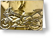 Ninja Motorcycle Colection Greeting Card