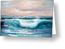 Ninth Wave Greeting Card
