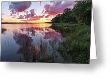 The Nip Sunset Greeting Card