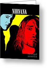 Nirvana No.01 Greeting Card