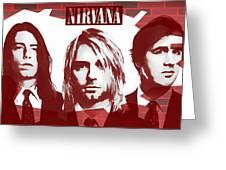 Nirvana Tribute Greeting Card