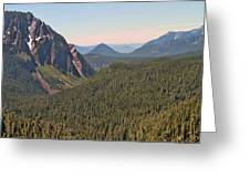 Nisqually Valley In Color Greeting Card