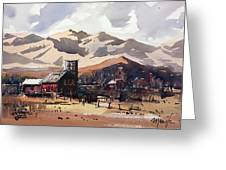 Niwot Colorado Greeting Card