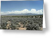 New Mexico Landscape 3 Greeting Card