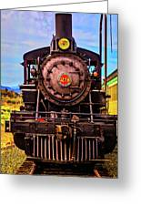 No 29 Virgina Truckee Train Greeting Card
