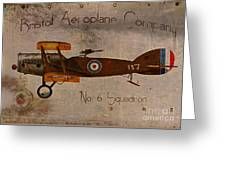 No. 6 Squadron Bristol Aeroplane Company Greeting Card