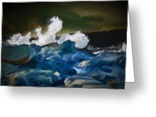 No Calm Before The Storm Greeting Card