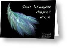 Wings Greeting Card