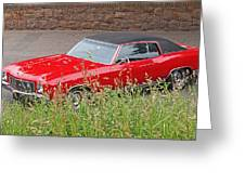 No Hiding Place - Monte Carlo Ss 1970 Greeting Card